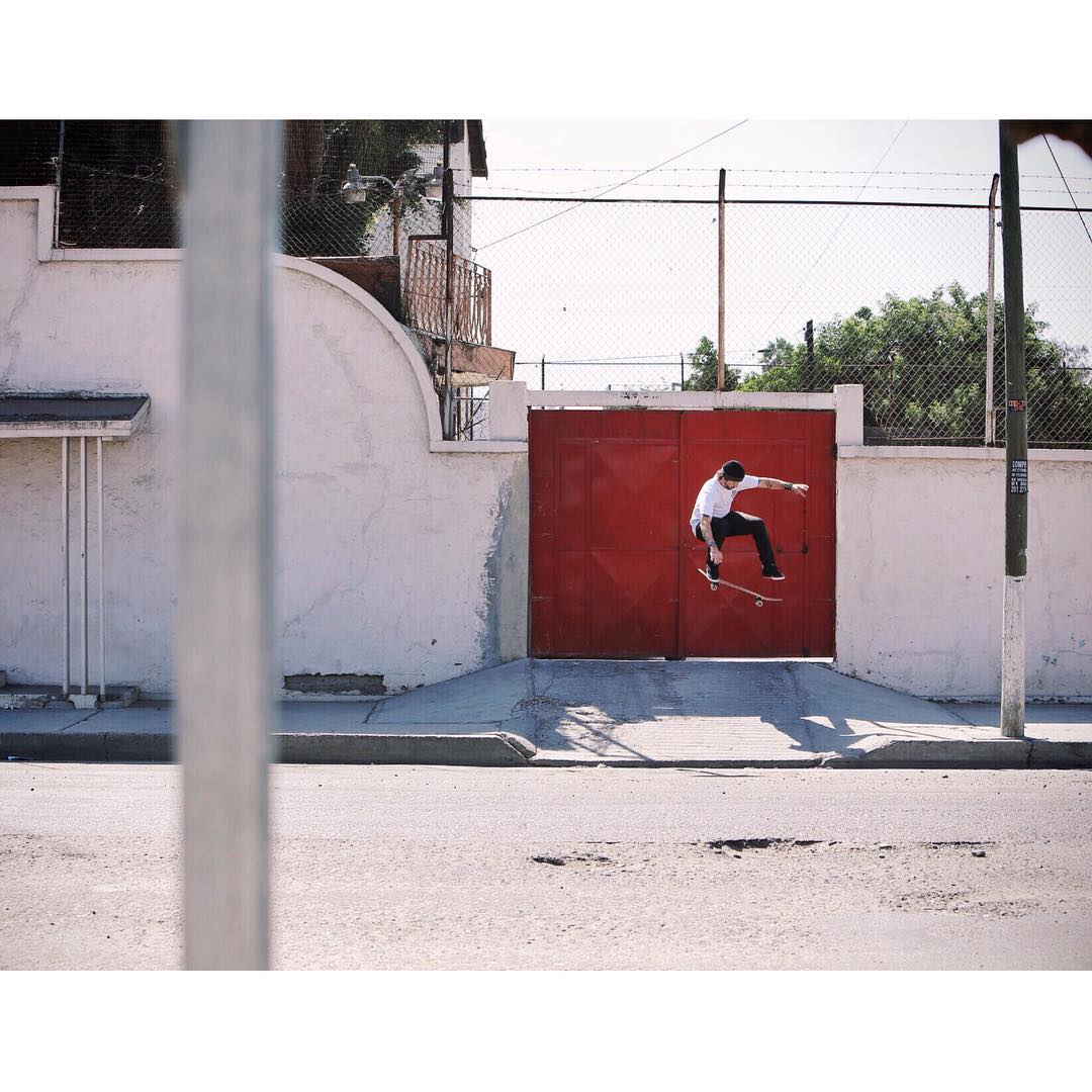 @chriscobracole catching a clean kickflip in Tijuana, Mexico. Photo: @mikeytaylor1 #ChrisCole #DCShoes