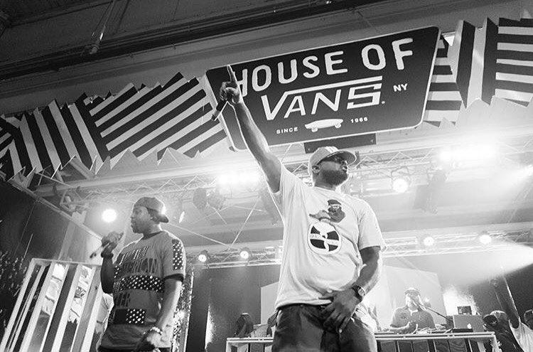 #Regram de @vans  Ghostface Killah + GZA con Cappadona en vivo el pasado jueves en la #HouseOfVans de Brooklyn