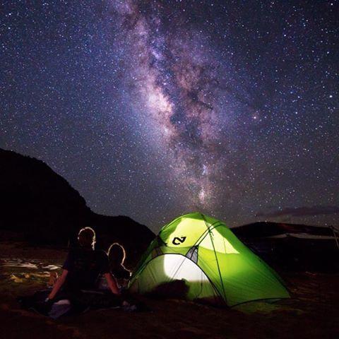 Goodnight from under the Milky Way by @chelseakauai #NatureOfProof