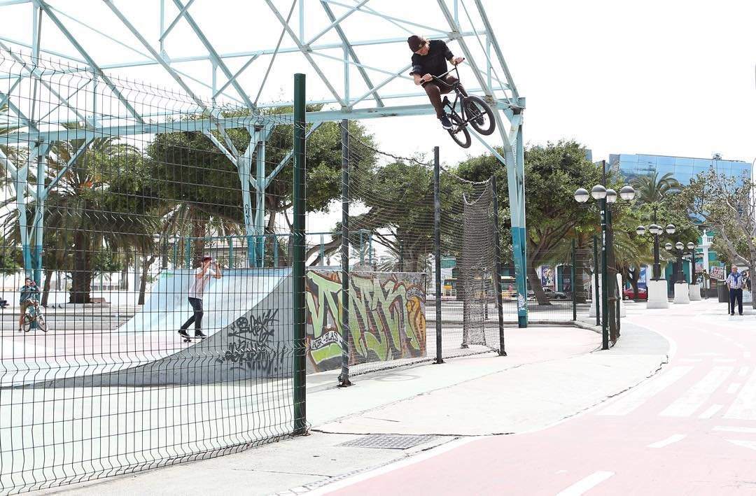 Five elite BMX riders hit the streets of Spain to assemble an insane edit.  #BMXinSpain will air today at 4 pm ET/2 pm PT on ABC! (