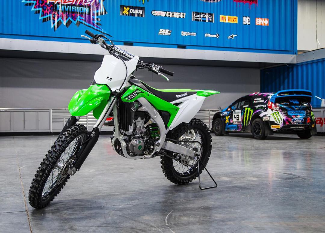 Big thanks to Kawasaki USA for bringing 450ccs of awesomeness back into my life! I spent a lot of time riding/racing/jumping these things for most of my life, 'til I stopped about 7 years ago to focused more on my rally/rallycross career. But now that...