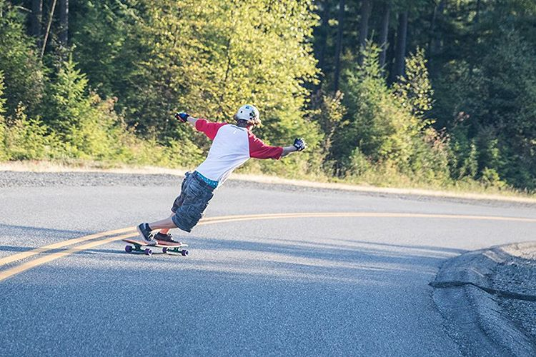 "We are stoked to announce that we have added Seattle longboarder Devon Dotson (@devdot23) to the team! Here is a photo we captured yesterday of him on the Keystone 37"". Be on the lookout for a new video later this week."