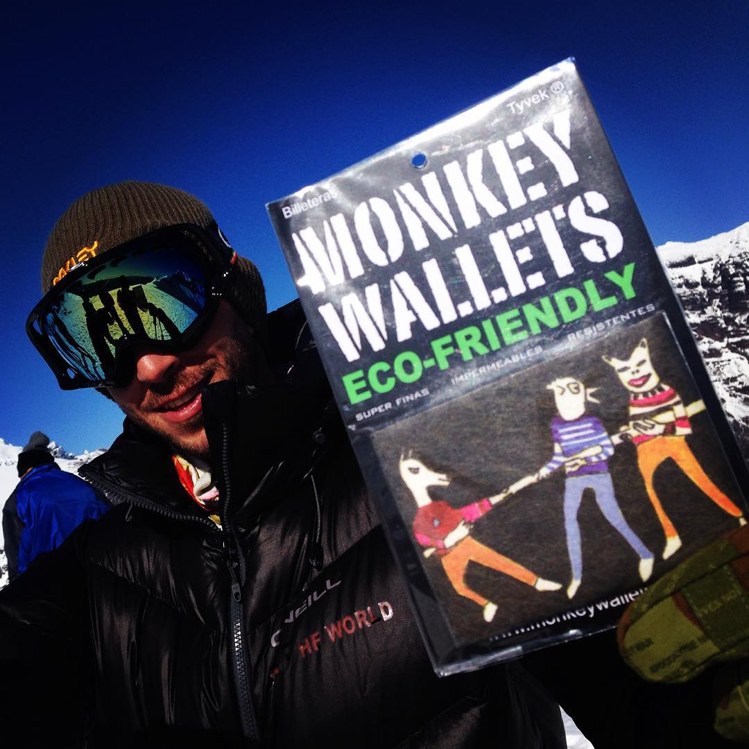 #Chapelco #tyvek #monkeywallets @monkeywallets #ski