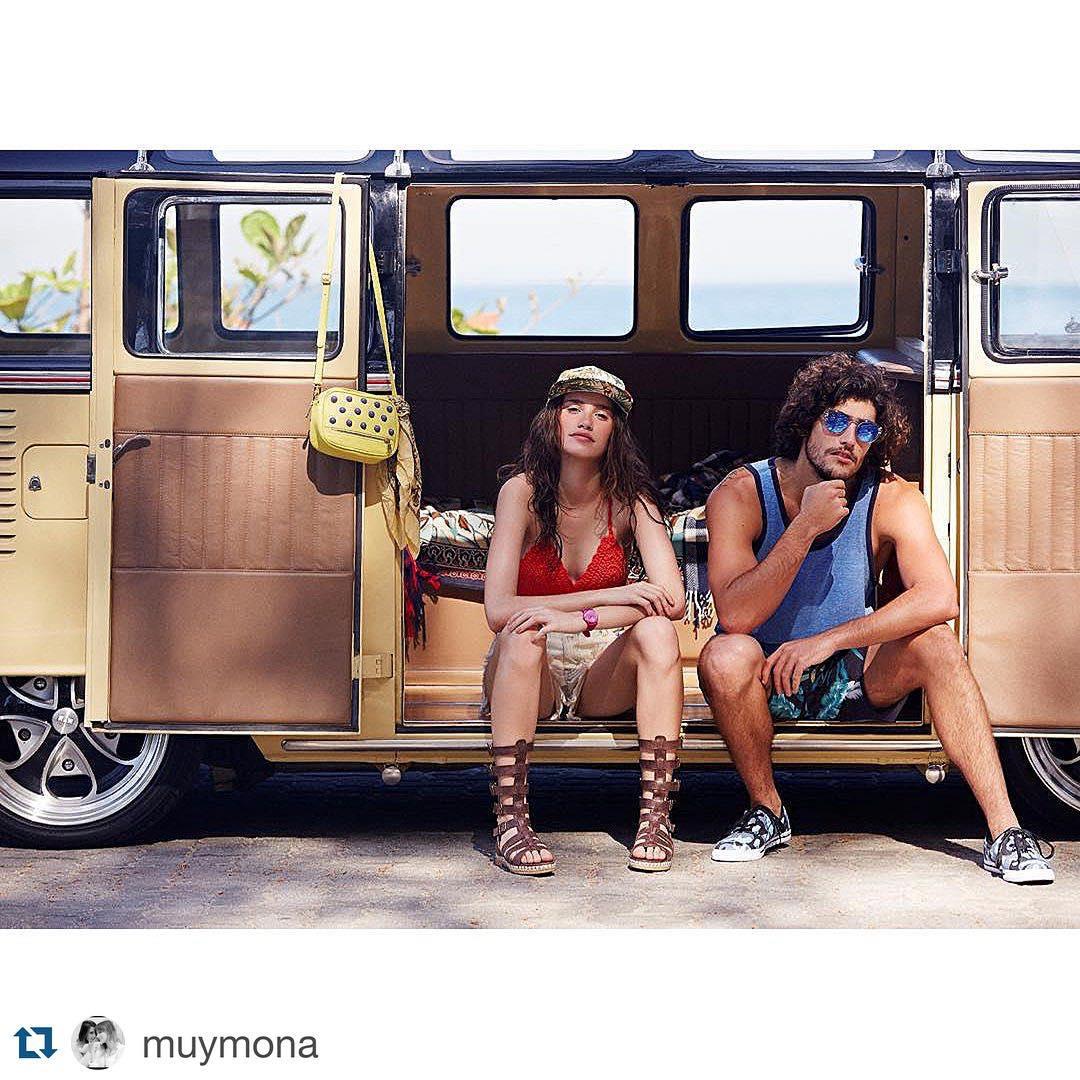 #Repost @muymona con los #tops de #crochet de las bolis, que son el #must del verano ☀️