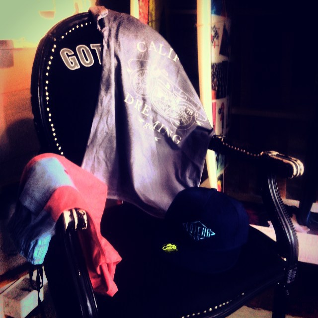 Gotcha Summer 2016 - Motogarage Tee// Alamo Vintage BS // Diamond Cap - @gotchaarg #summer #collection