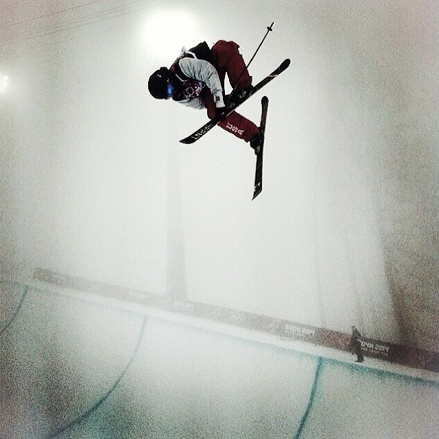 Watch David Wise ( @mrdavidwise ) compete today in #Sochi Qualifiers at 6:45 AM MST and finals at 10:30 AM MST on www.nbcolympics.com/live-extra #roadtosochi #goinforgold