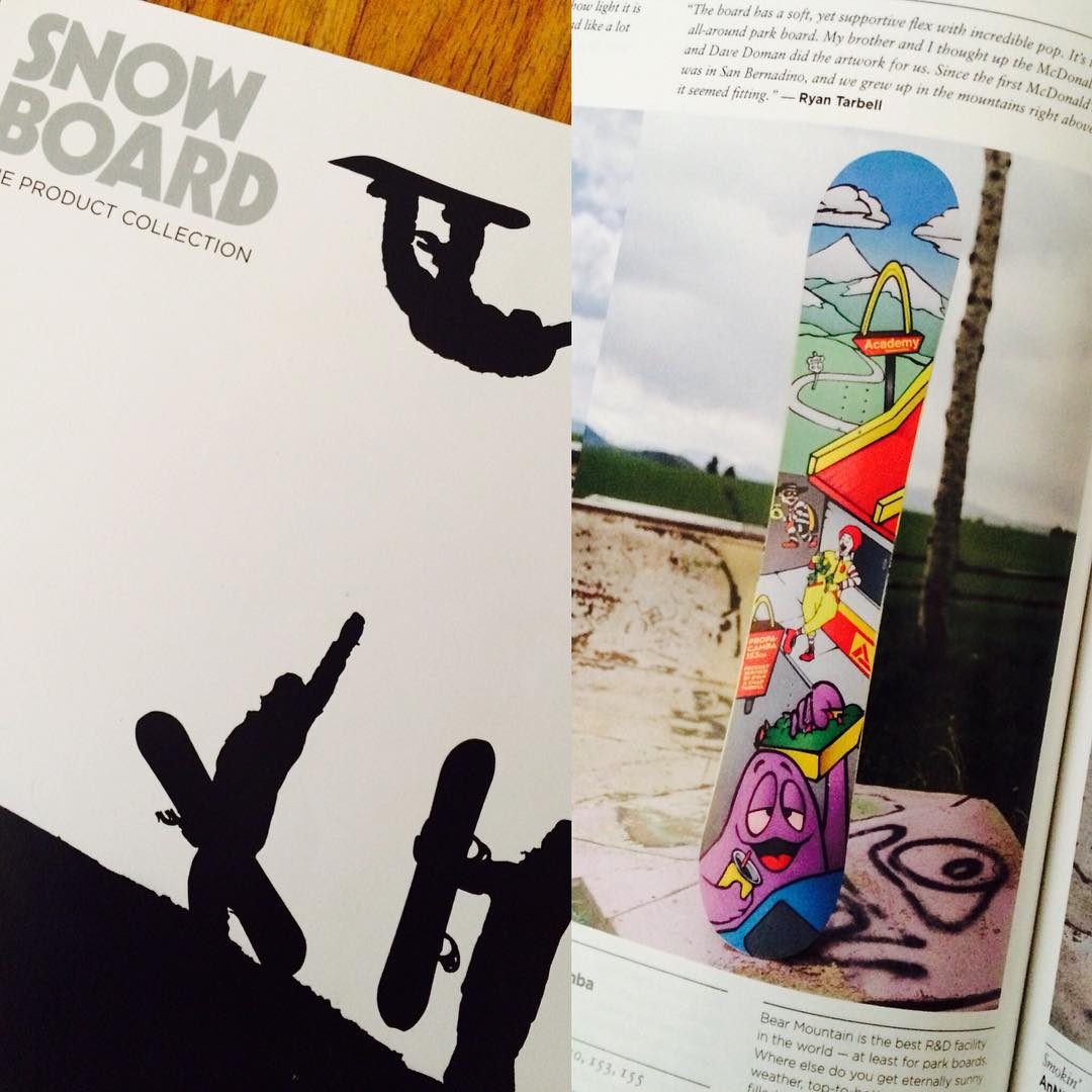 Go get yourself a copy of the new @snowboardmag and see what @ryan_tarbell has to say about the Propacamba!! #productguide