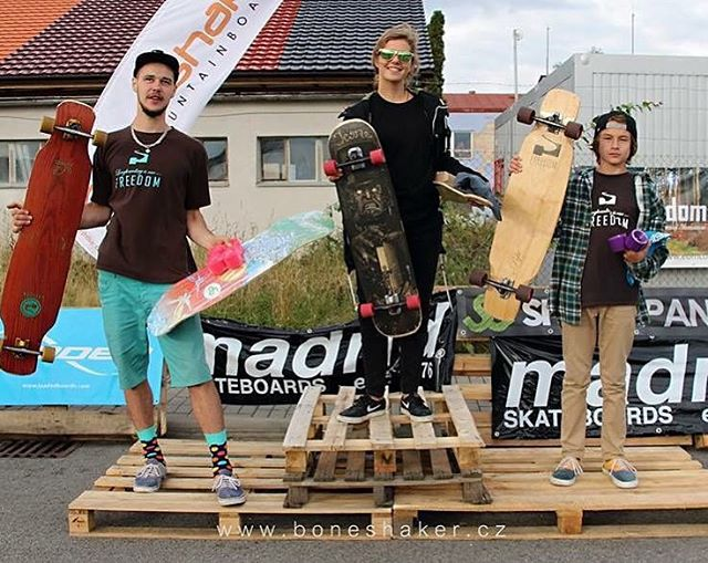 This happened.  @iconelongboards & LGC Czech Republic rider #KikaGrezdova got 1st in Open category during Czech Republic's #havlickuvbrod freestyle contest. We couldn't be prouder. Kika, you're a boss!  Repost from @iconelongboards  #longboardgirlscrew...