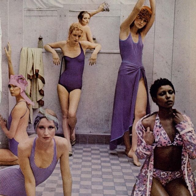 Cool and comfortable swim inspiration from the 70s  #myseealife