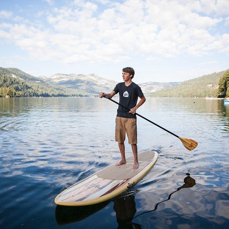 Perfect way to start a Labor Day. Make the most of day! #GetOnIt #Ca89 #DonnerLake #TruckeeMoments