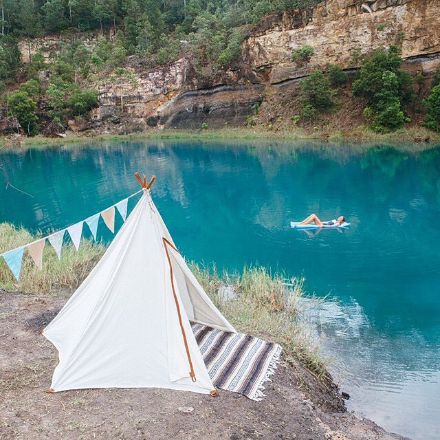 #labordaze #relax #float #teepee #noworries source: @shotbygrace_