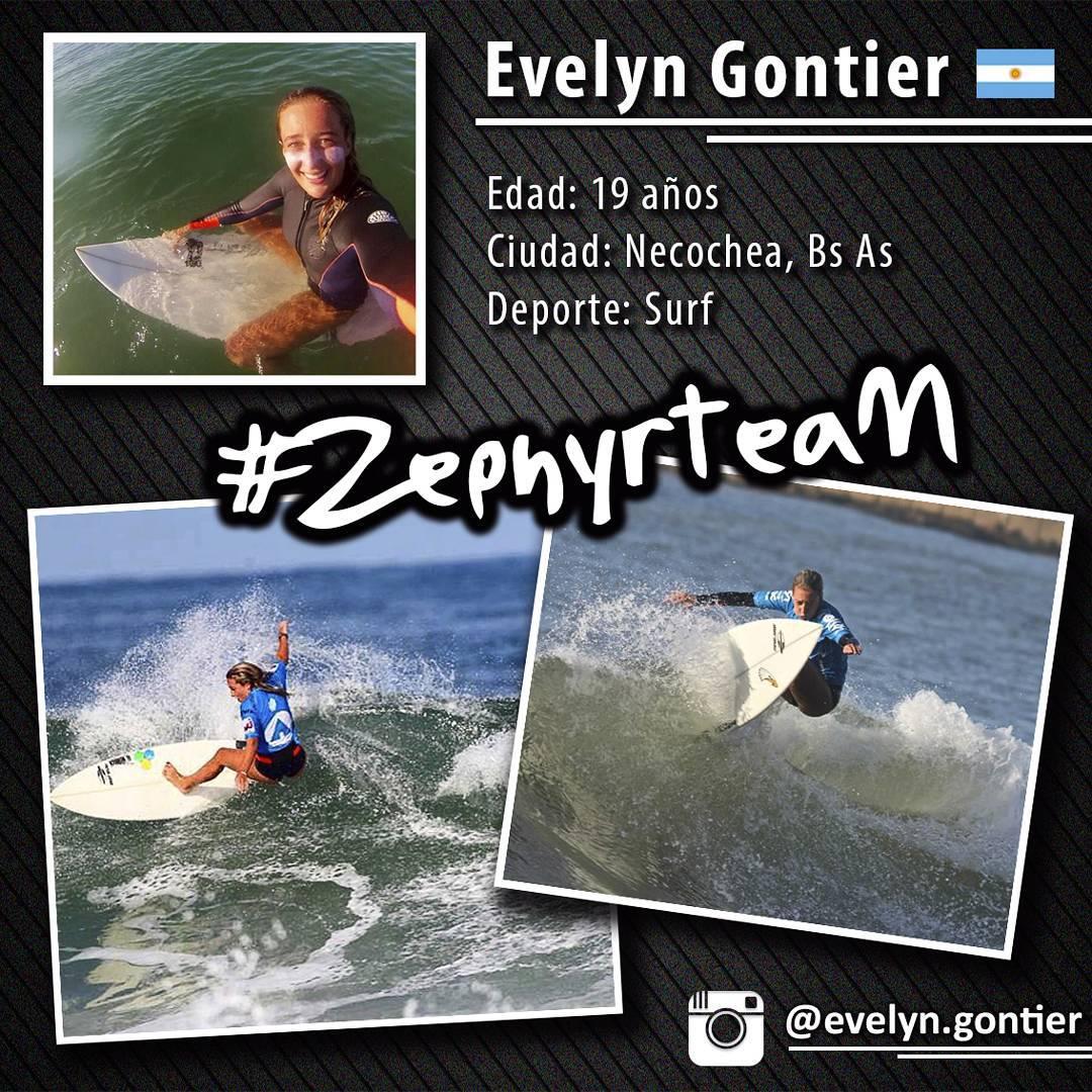 @evelyn.gontier ➡ Pro Surfer de #Argentina, integrante del #ZephyrTeam!