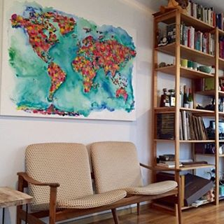 Nada como tener #arte pintado a mano en tu casa