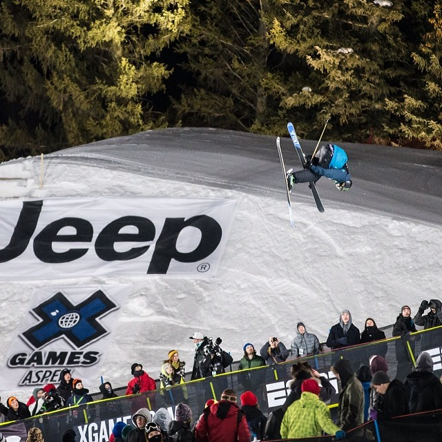 #xgames champ and US Olympic favorite @mrdavidwise going for GOLD today in Sochi.  Photo: @christianpondella