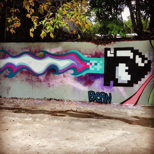 @akbernal • • #atx #austintx #texas #tx #streeart #spratx #paint #bern