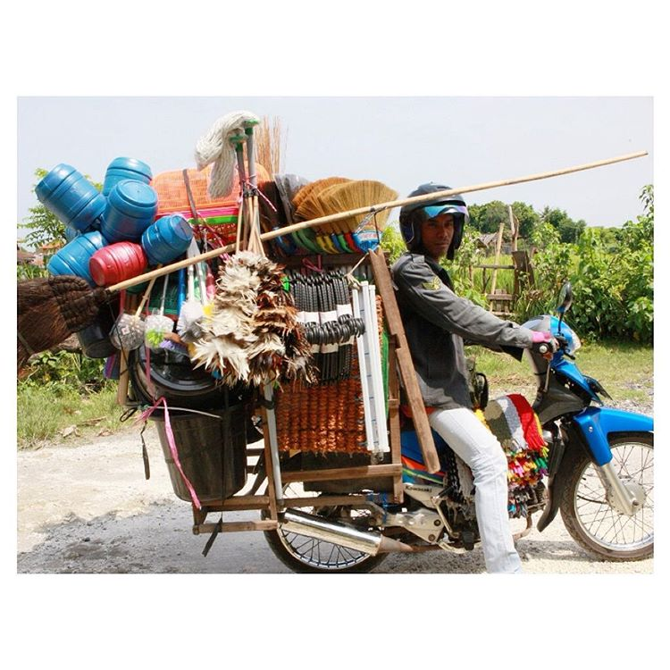 Brooms, babies, building materials, businessmen, balloons... You name it, you can probably find it on one of the millions of motorbikes swarming through the streets of Indonesia on any given day. Millions of bikes means millions of tires, which all...