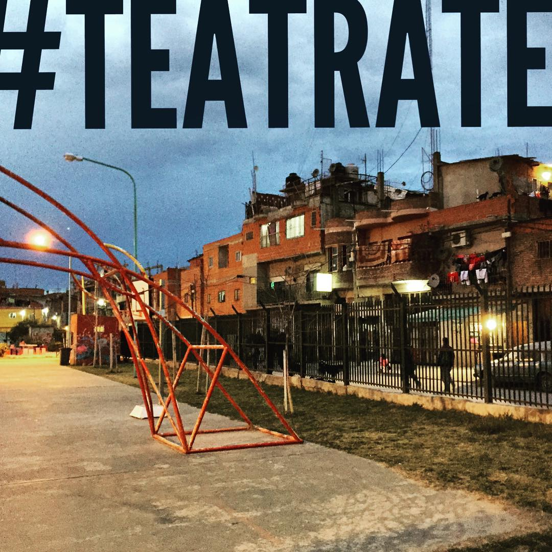 """""""Se trata lo que se vive, se habla lo que se sabe. Eso es lo que se imita y en ello el teatro habita"""" #teatrate"""
