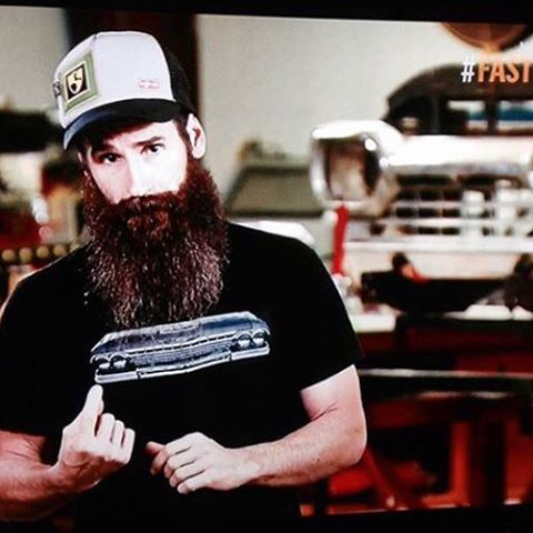 Tonight on #FASTnLOUD the one and only #aaronkauffman is rocking a @bigtruckbrand x #highfivesfoundation collab hat, @gasmonkeygarage and @rrrawlings thank you for the support