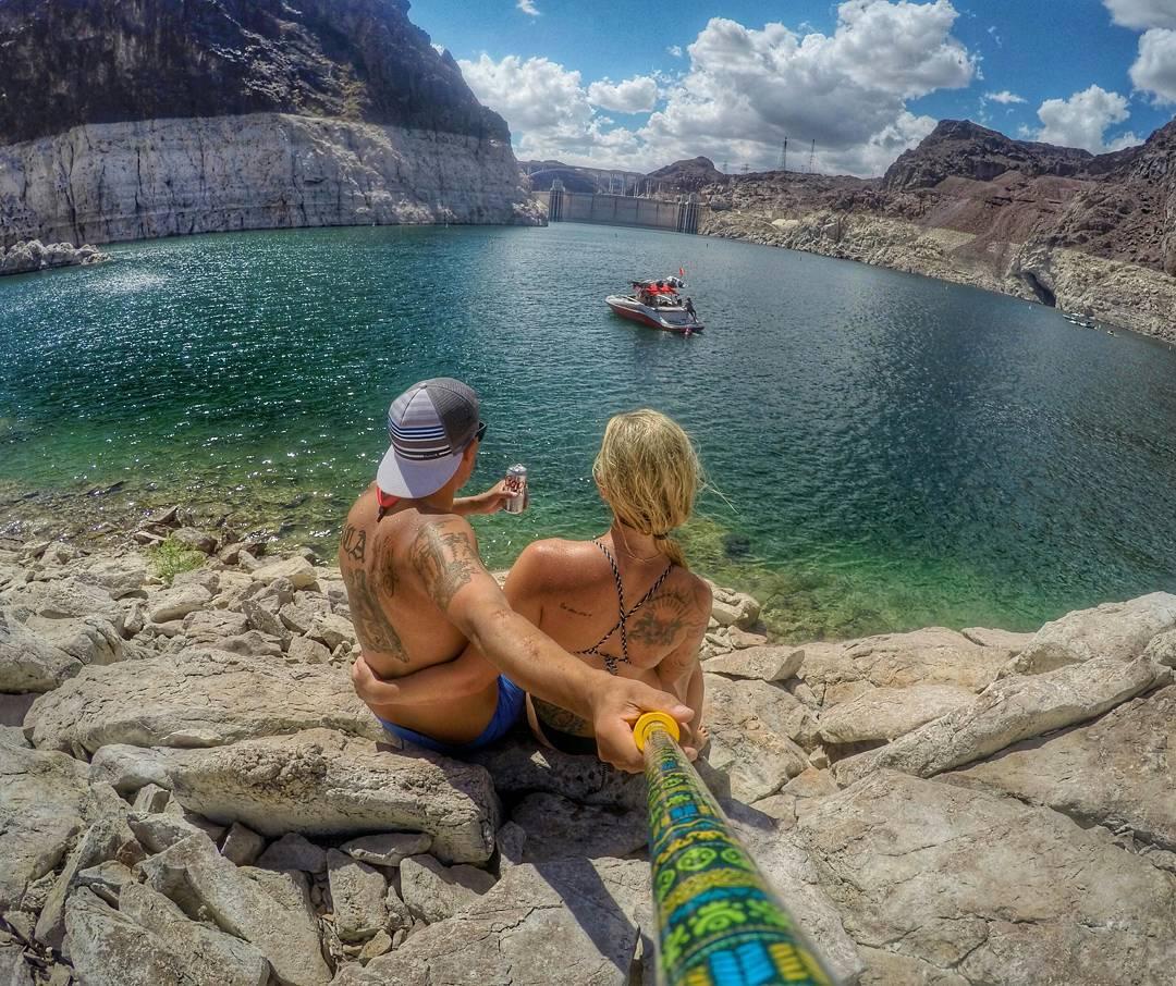 @thegood_life_ nos manda su foto, desde #LakeMead #Nevada, con su #ZephyrPole!