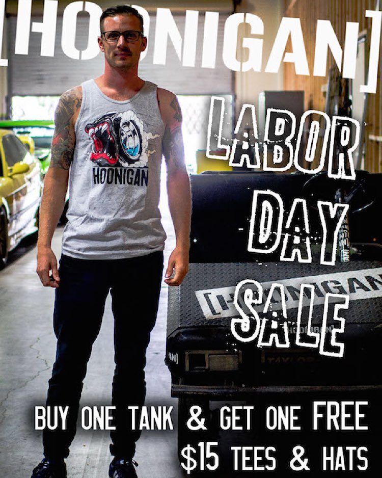 Were you too busy stuffing your face with burgers this Labor Day and missed out on the sale?  Don't worry, we got you, we've extended the sale one extra day.  Thank us later. #HNGNLabordaysale