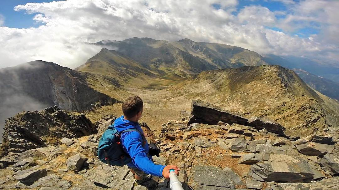 Location: Pyrenees Mountains, France Photo: @walkhikeclimb GoPro HERO4 | GoPole Reach #gopro #gopole #gopolereach #hike #mountains #pyrenees #france