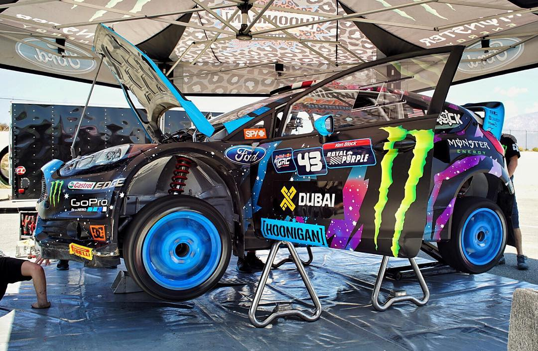 Back to work! It's been three weeks since the last #GlobalRallycross race in Washington, DC. And even though I'm currently leading the championship, we're still doing a few rounds of rigorous testing today to make sure the car is on top of its game....