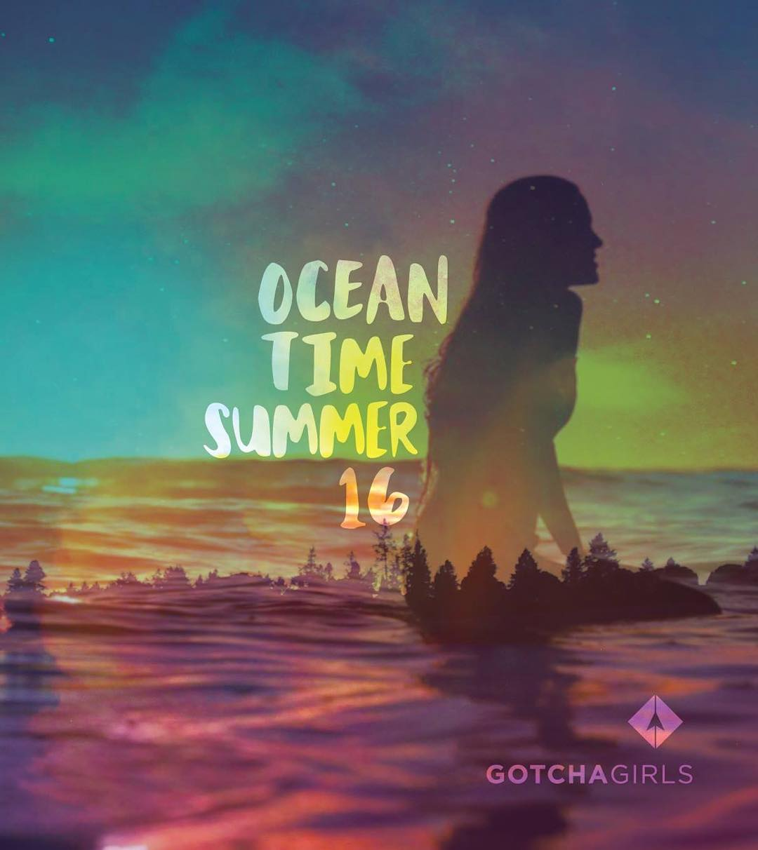 Ocean time! The Gotcha Girls summer 16 collection - #gotcha #girls #GG #doubleg #surfergirl