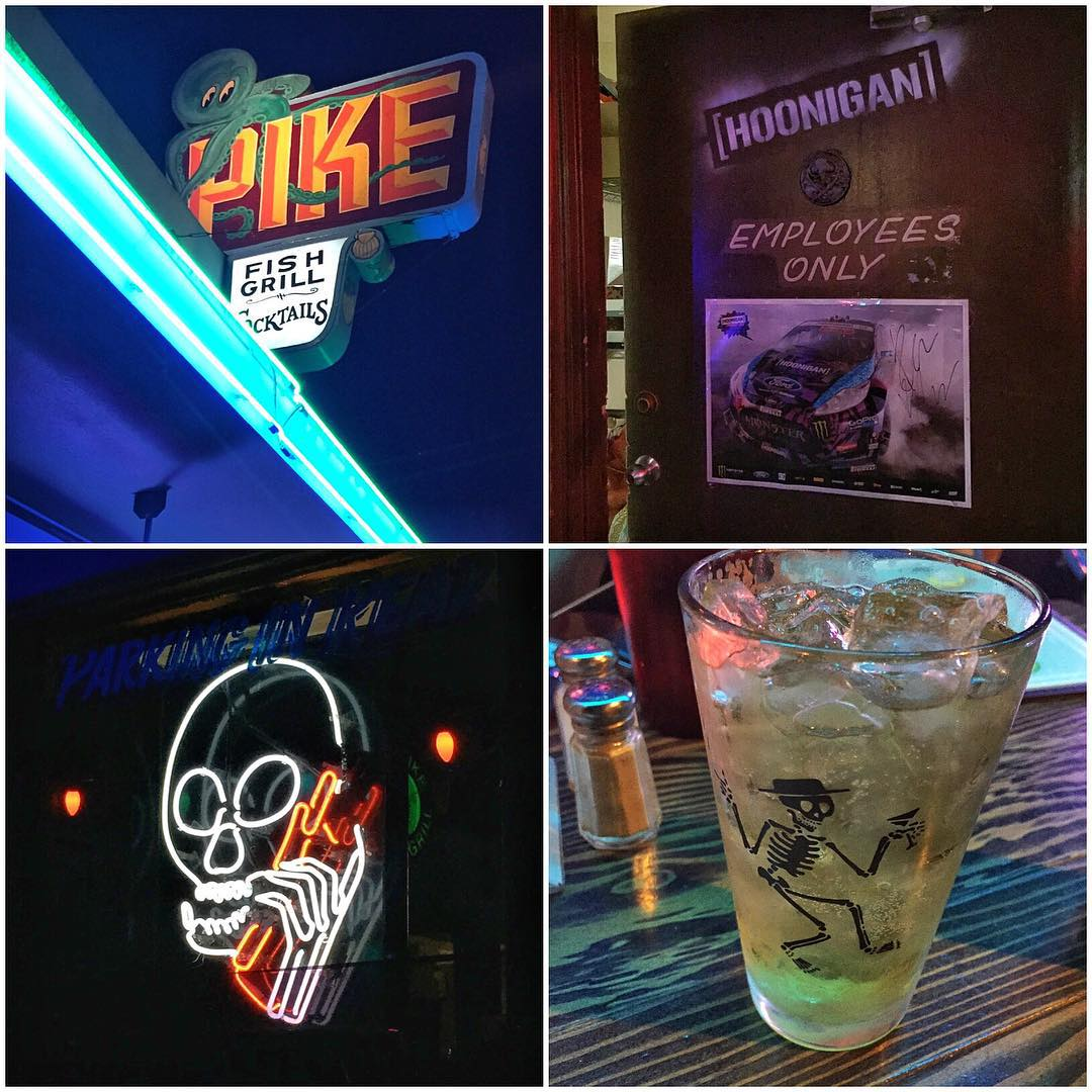 Perfect dinner spot tonight after a long day of rallycrossand testing: @PikeBar and Restaurant in Long Beach CA, aka @TheHoonigans' favorite place to eat and consume adult beverages, just a few blocks away from their HQ. Great food and an amazing...