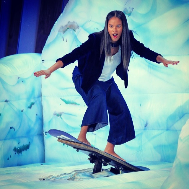 Tune in to The @queenlatifah Show today to catch one of our biggest supporters Joy Brant (@joybeezy) as she gives us a special shout out! She is an amazingly rad inspiration to us. #supportstoked #greatful #stokedneverstops