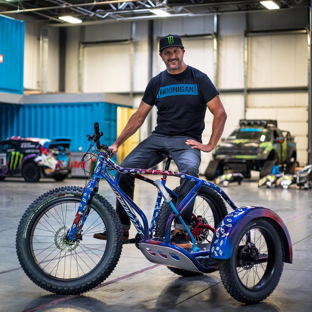 While the guys from Specialized Bicycles were out here in Utah last week, they gave me this AWESOME project bike they've been working on for a while: the #slidehack! Three wheels, electric power assist, and a HANDBRAKE. Yup, a custom handbrake that...