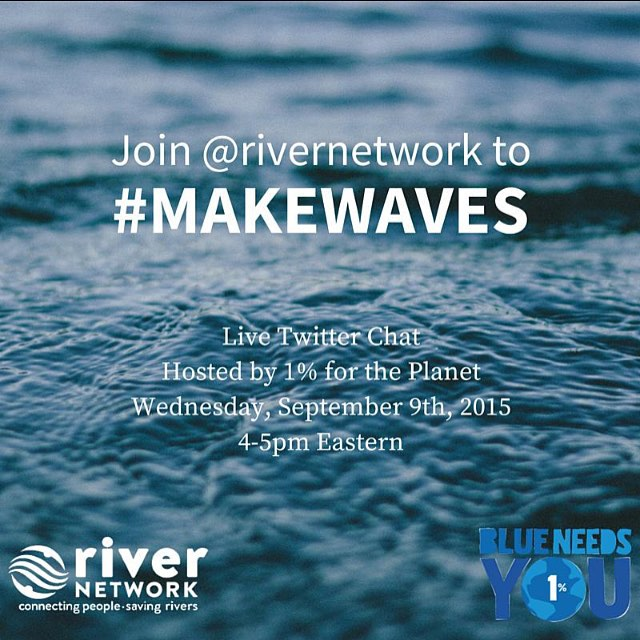 We're raising awareness and throwing a Twitter party to talk about water access and quality with @oceana @surfrider @earthbalance and We-Care.com! Join us from 4-5PM Eastern and follow the tag #makewaves for your chance to win some giveaways from 1%ftP...