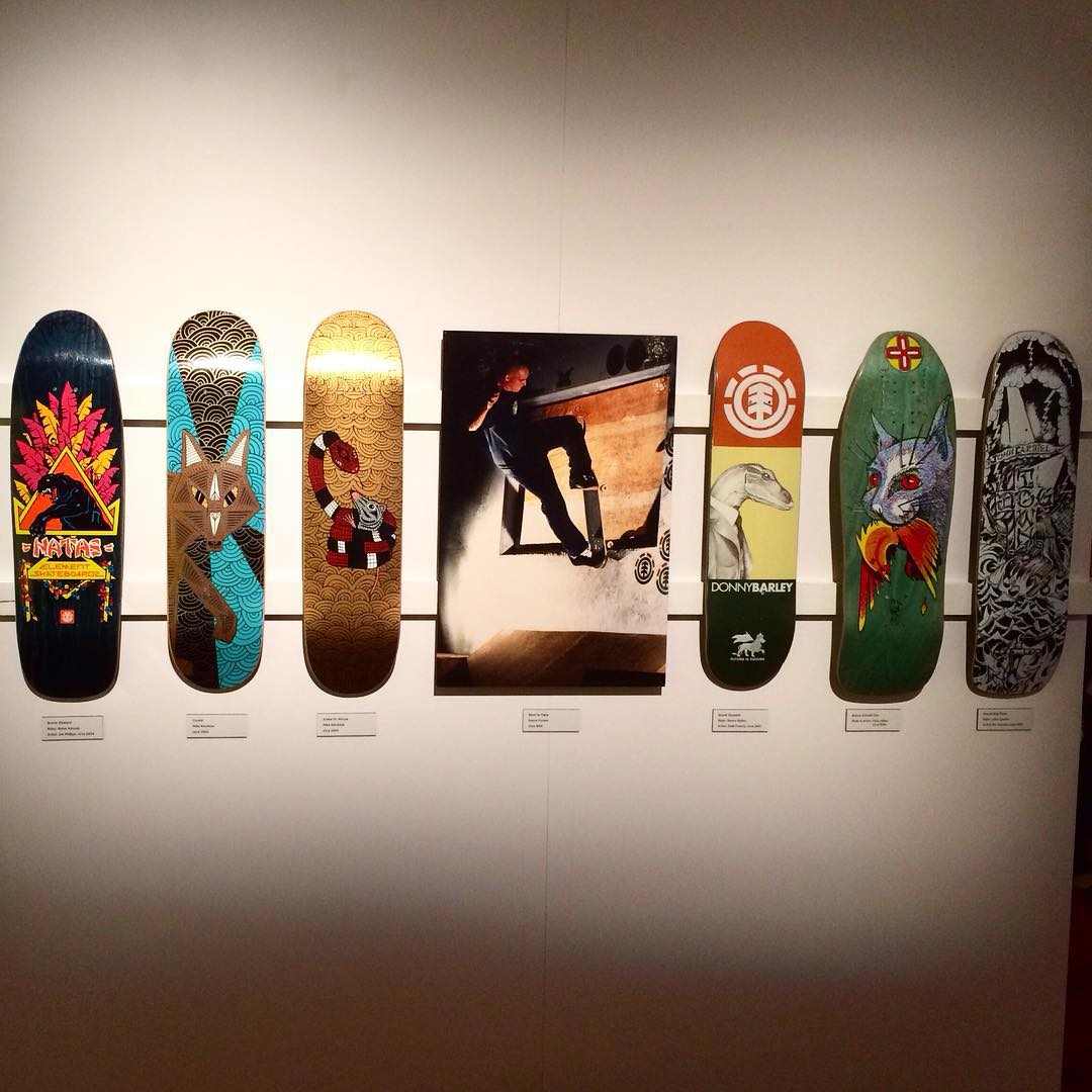 We'd like to congratulate Element Founder @johnnyschillereff on holding his personal collection of Skateboards and Skateboard related art in our nation's greatest performing arts center - 'The Kennedy Center' (@kennedycenter). The exhibit titled 'From...