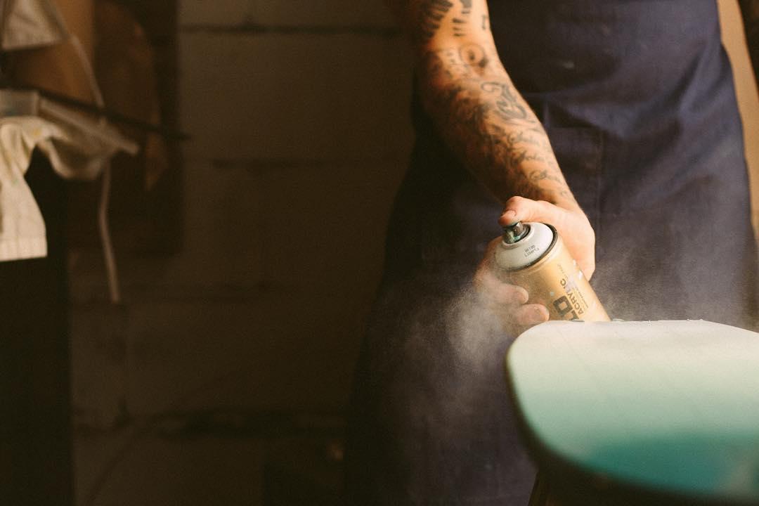 We love a good fade. #handmadeskateboard #handmade #skate #skateboarding #Nashville
