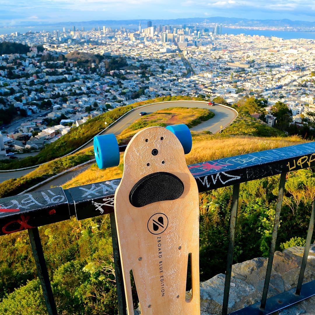 Riding SF always manages to give give you new perspective on the city. Where do you ride? Photo by @blizzybt