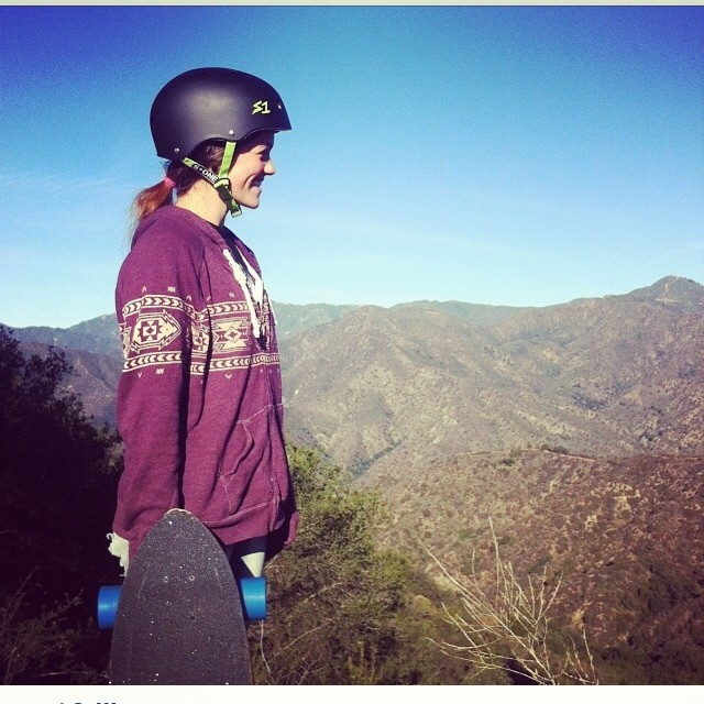 Regram @escagnar of @amandacAli surveying the #descent . #lovinlife #sunnyday #californiaruns