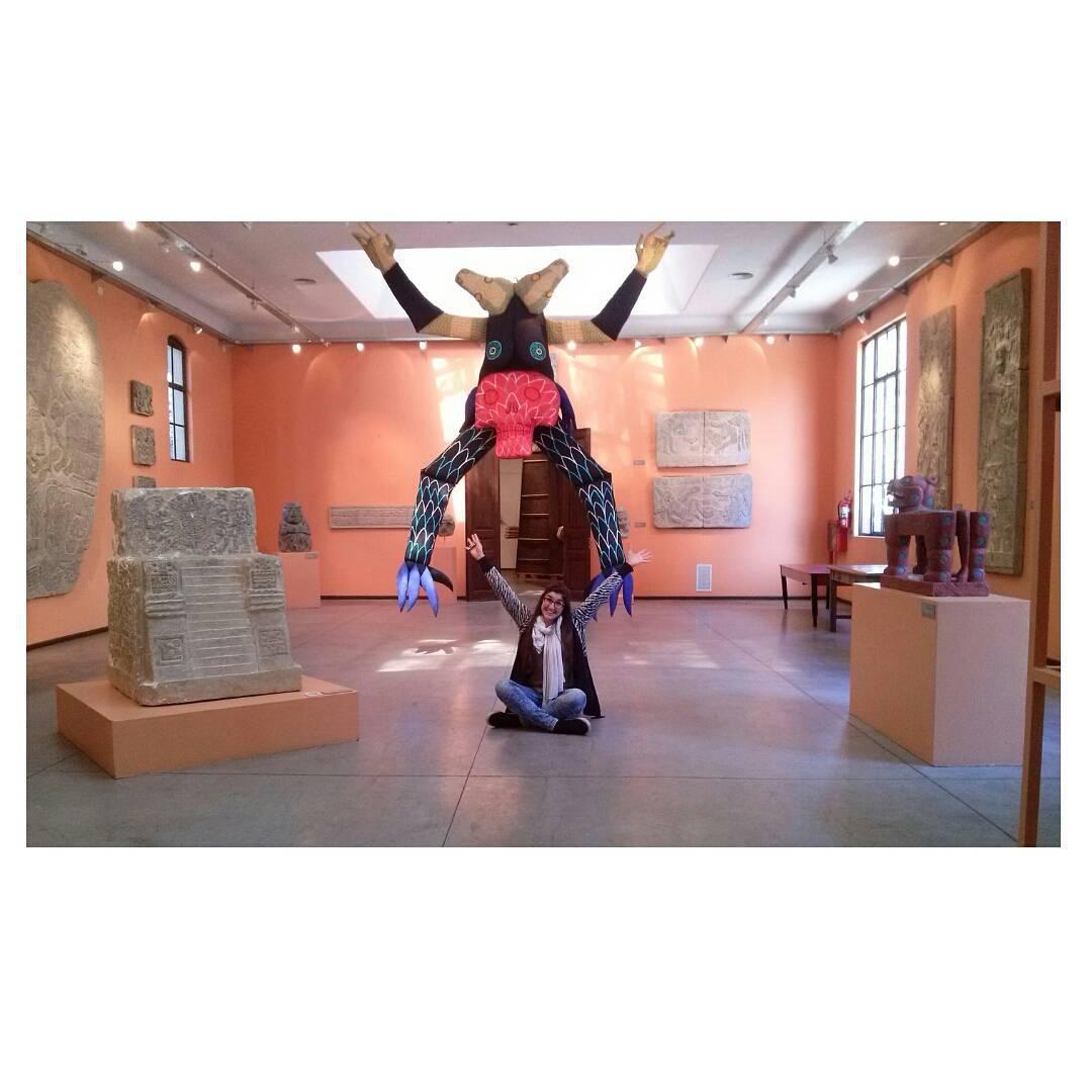 Los museos no son los aburridos, aburridas las personas que los visitan. #art #arte #visiting #museum #museo #museodelacarcova #tadeomuleiro #elmundoescomoloves