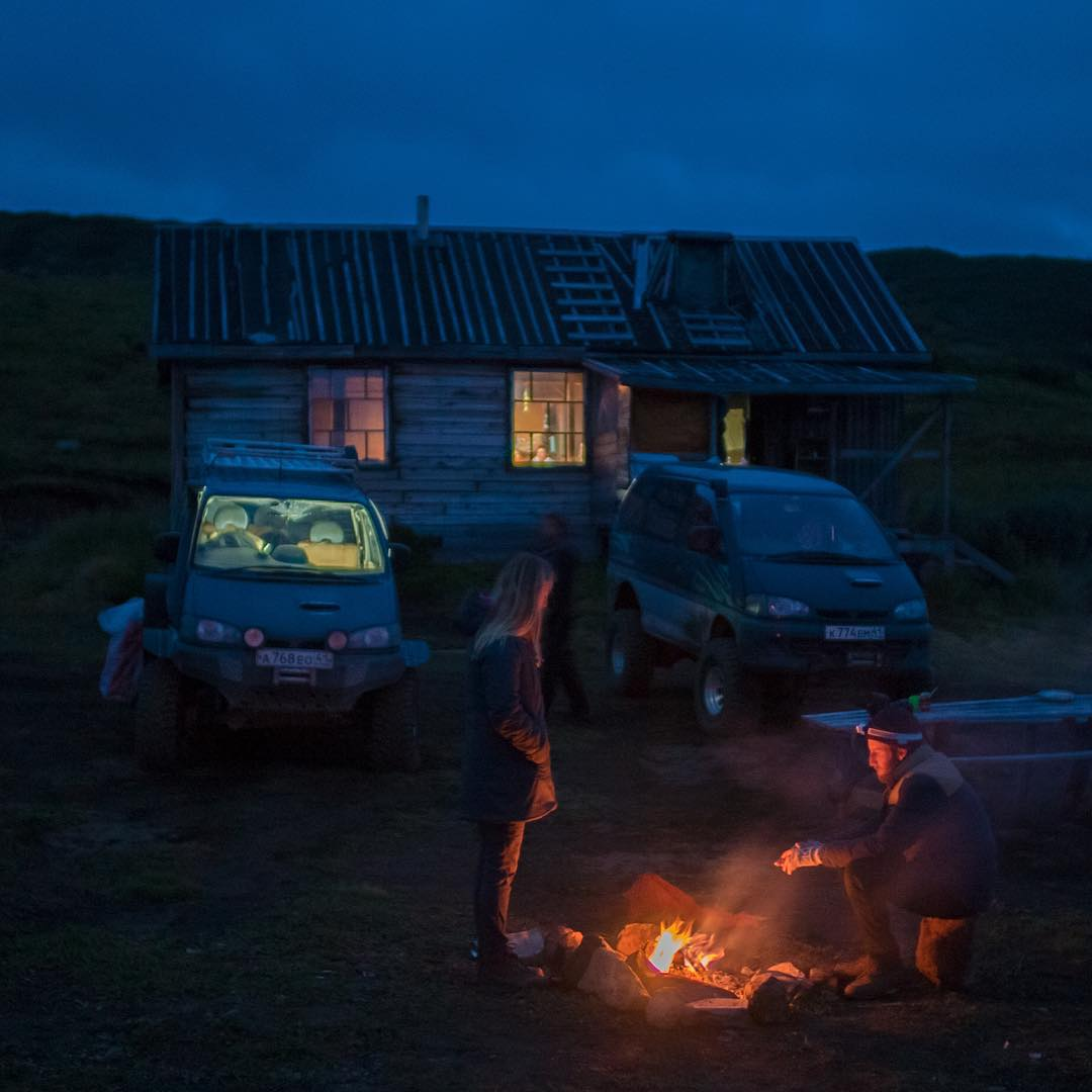 """Big waves, little waves, ex-military helicopters, 4x4s, and my worn-in hiking boots are all taking me to some epic places, but the biggest adventure was today - I went to a Russian bath house called a """"Banya"""". It's a nudie sauna for the local ladies...."""