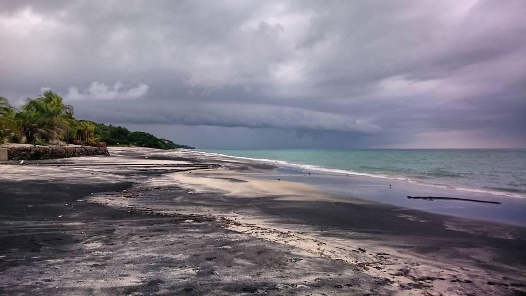 #storm #tormenta #llegando #bijao #cocle #panama #beach