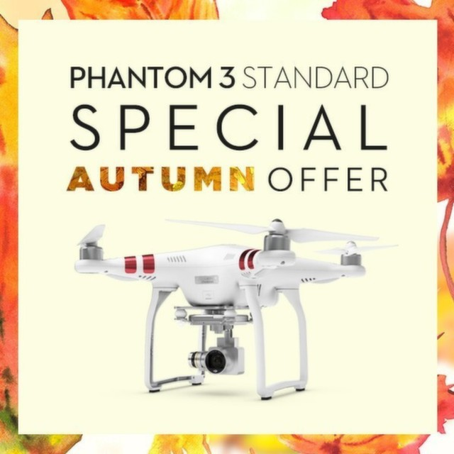 We're giving you more reasons to experience intelligent flight with #DJI!  Visit store.dji.com to get more info on this deal on the new #Phantom3 Standard.  Double tap and share today #IamDJI  The countdown continues: September 10, 2015, 5:15pm Pacific...
