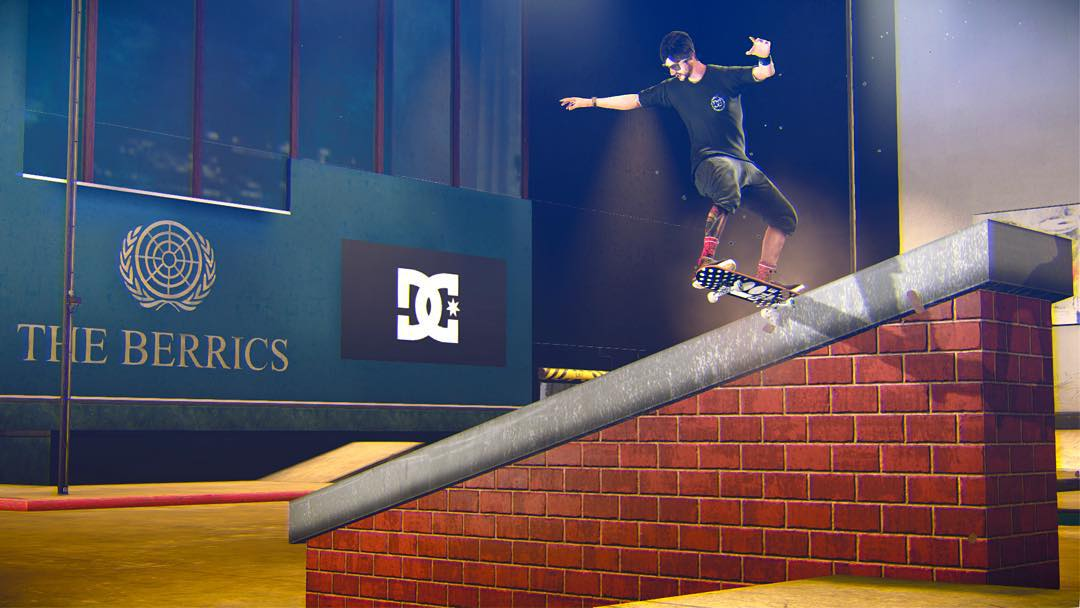 You can play as @chriscobracole in @tonyhawkgames Pro Skater 5, out September 29! Pre order it now! Switch back tail at the @berrics. #THPS5 #DCShoes