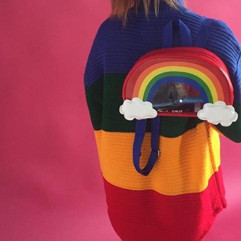 Y yo salgo vestida de #rainbow