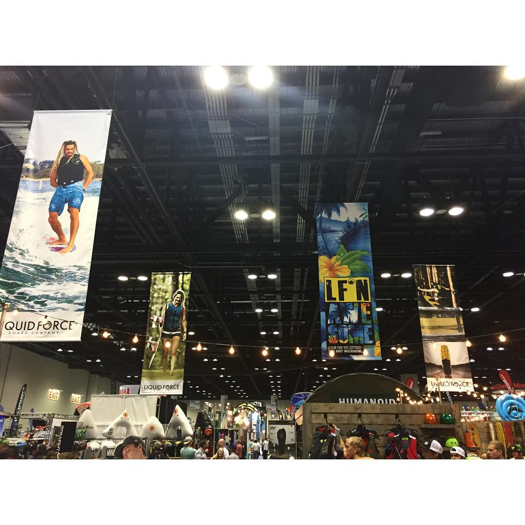 2016 is happening!  #SurfExpo #LFnAwesome