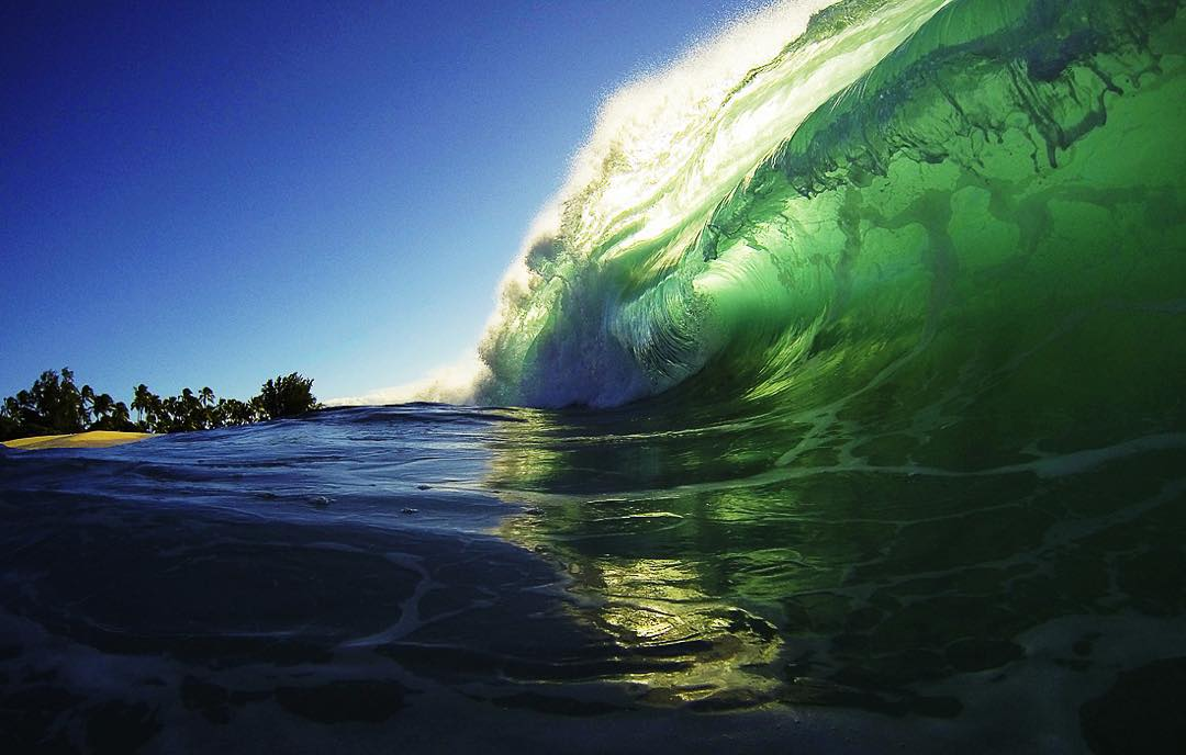 Do we love the ocean because of the surf, the sight, the smell ... or is it just the feeling it gives us?