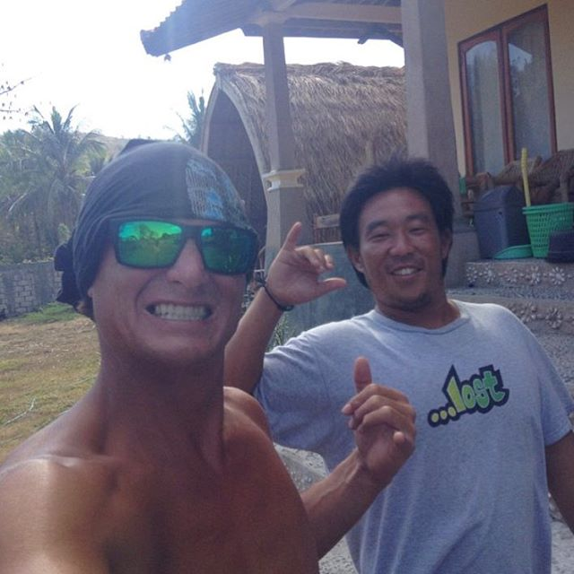 The A Team still posted up in Indo. @psycho_ward137 @burgerinparadise #WardStories #BurgerInParadise.com #lostclothing