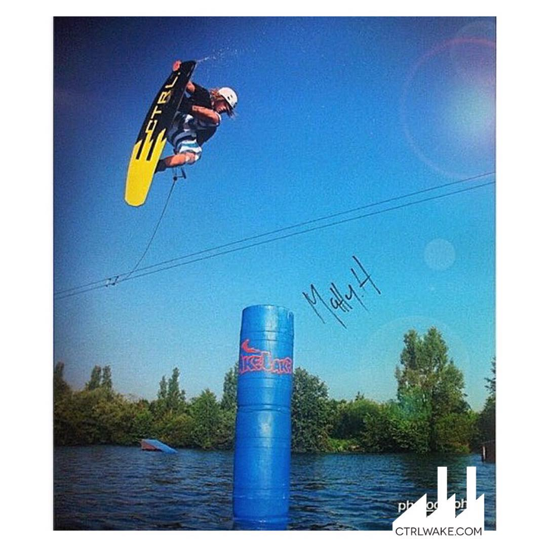 #TBT of @mattyhasler boosting in Germany  #CTRLwake #InCTRL #Wakeboarding #WhyCTRL