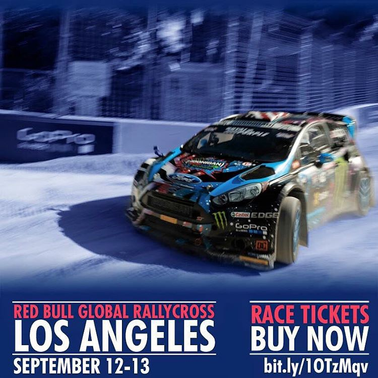 Do you like racecars that jump and shoot fire? Do you like door-bashing race action? Do you live in/on/around Los Angeles? Then grab a ticket for the #GlobalRallycross double header race this weekend at the Port of L.A.! Tickets available at the link...