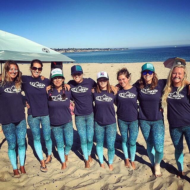 PANTS We are proud to support the @wahineproject and their efforts to elevate the lives of young girls by teaching them #surfing & #waterwoman skills #pantswithpurpose