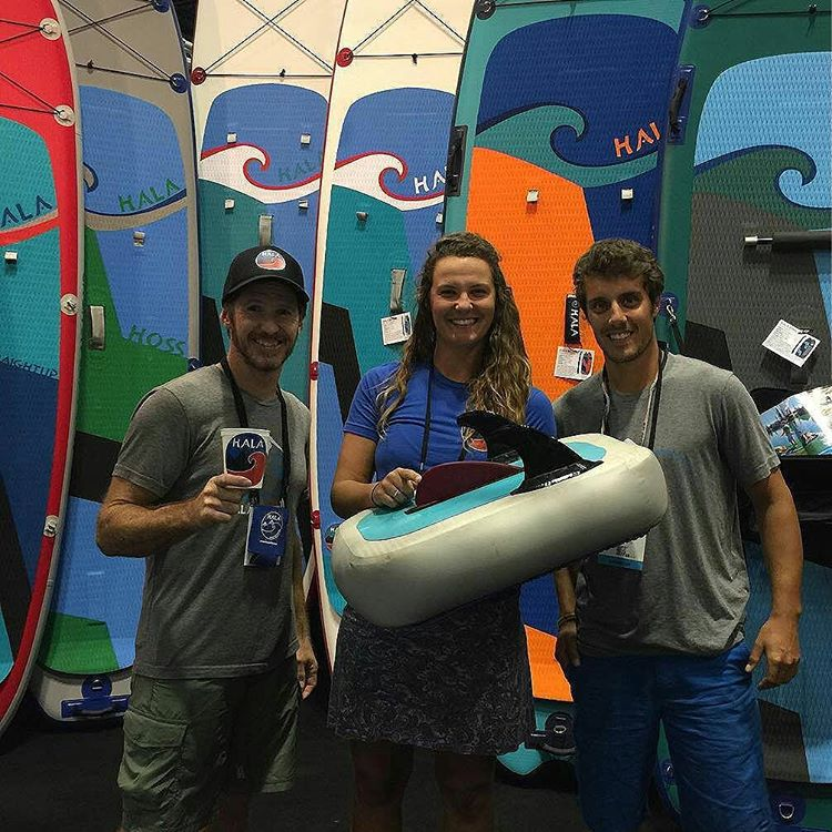 Come visit us at the #halagear #surfexpo booth #757! #surfexpo2015 #isup #standuppaddle #Paddleboard #inflatablesup #adventuredesigned  Photo: @distressedmullet