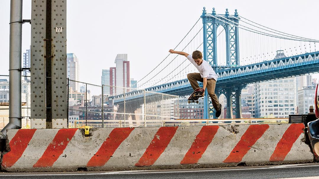 New York City has inspired some of the most original street skateboarding in the world!  Click the link on our profile page to check out our tribute to the city that never sleeps. (