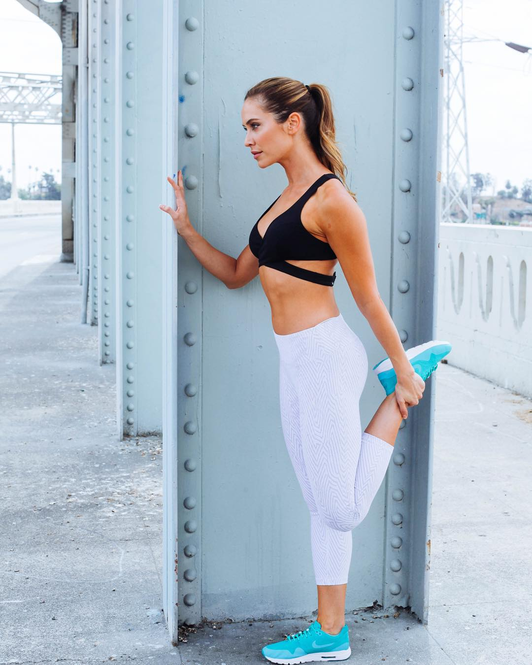 "With the mantra of ""health is your greatest wealth"" @christinebullock motivates her clients and fans to follow a 360 degree approach to #wellness by following a regiment of fitness, dieting, and a healthy perspective on life. Check out more about our..."